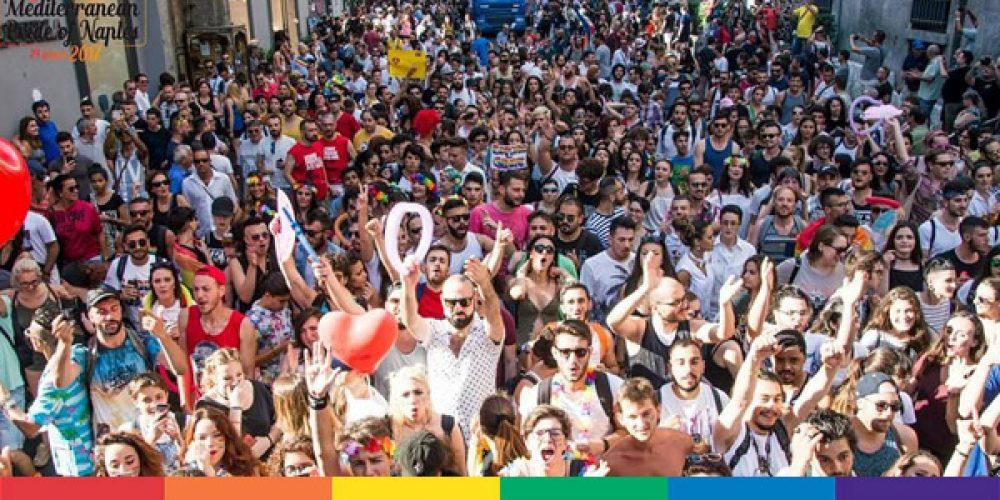 5 gli appuntamenti in Campania per il Pride