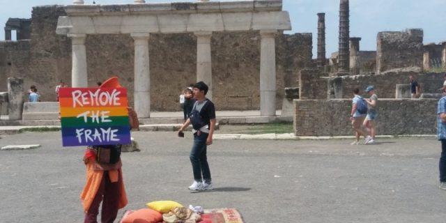 Pompei Pride – Lo spot girato negli scavi